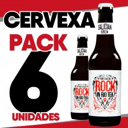 Pack 6 cervexas Rock in Rio Tea